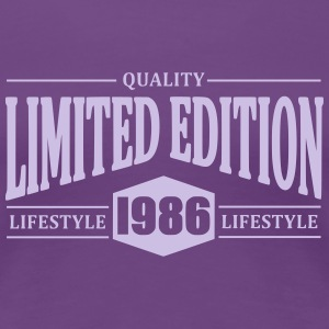 Limited Edition 1986 T-shirts - Dame premium T-shirt
