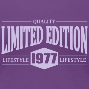 Limited Edition 1977 T-shirts - Dame premium T-shirt