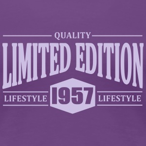 Limited Edition 1957 T-shirts - Dame premium T-shirt