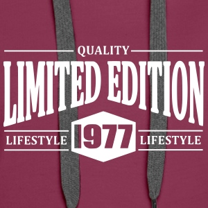 Limited Edition 1977 Hoodies & Sweatshirts - Women's Premium Hoodie