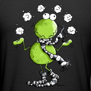 Winter Frosch T-Shirts - Männer Slim Fit T-Shirt