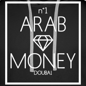 arab money Sweat-shirts - Sweat-shirt à capuche Premium pour hommes