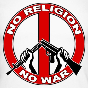 No  religion no war Manches longues - T-shirt baseball manches longues Homme