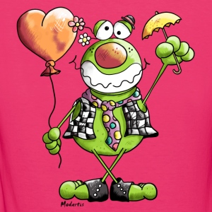 Clown Frosch - Frauen Bio-T-Shirt