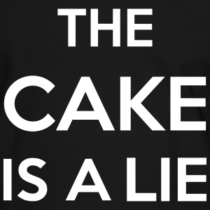 The Cake Is A Lie Tee shirts - T-shirt contraste Homme
