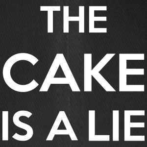 The Cake Is A Lie Caps & Hats - Flexfit Baseball Cap