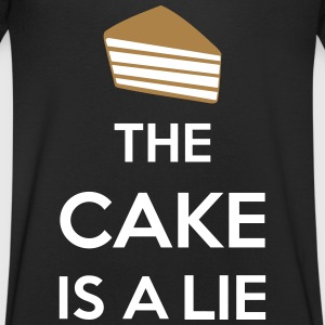 The Cake Is A Lie T-Shirts - Men's V-Neck T-Shirt