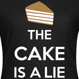 The Cake Is A Lie T-Shirts - Women's T-Shirt