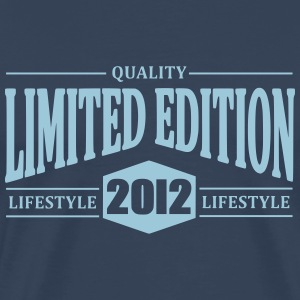 Limited Edition 2012 T-shirts - Herre premium T-shirt