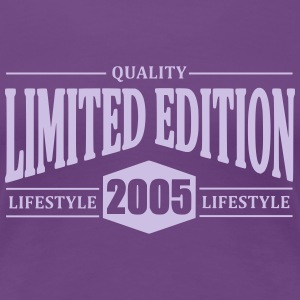 Limited Edition 2005 T-shirts - Vrouwen Premium T-shirt