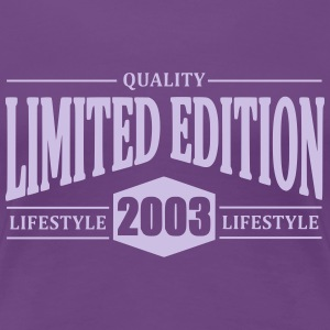 Limited Edition 2003 T-shirts - Vrouwen Premium T-shirt