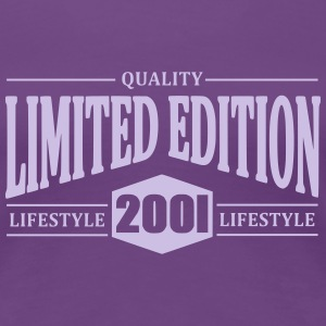 Limited Edition 2001 T-shirts - Premium-T-shirt dam