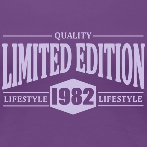 Limited Edition 1982 T-shirts - Dame premium T-shirt
