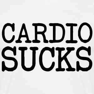 Cardio Sucks Tee shirts - T-shirt Homme