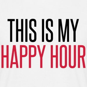 Happy Hour T-Shirts - Männer T-Shirt
