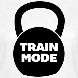 Train Mode Camisetas - Camiseta mujer