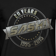 Design ~ SASH! T-Shirt 20 Years On Tour