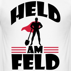 Held am Feld T-Shirts - Männer Slim Fit T-Shirt