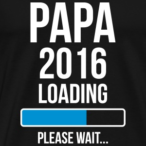 Papa 2016 Loading Please wait... T-shirts - Mannen Premium T-shirt