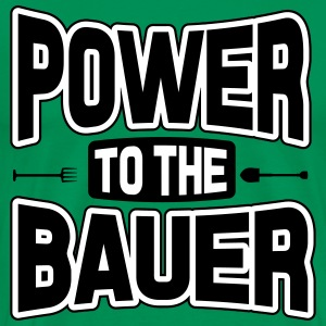 Power to the Bauer Camisetas - Camiseta premium hombre