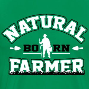 Natural born farmer T-shirts - Premium-T-shirt herr
