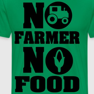 No farmer no food T-Shirts - Men's Premium T-Shirt