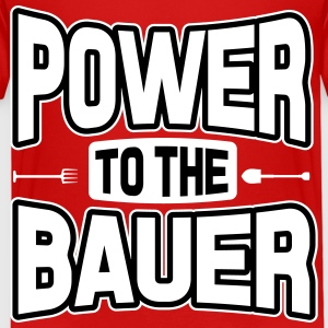 Power to the Bauer T-shirts - Premium-T-shirt barn