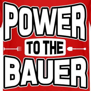 Power to the Bauer Shirts - Kids' Premium T-Shirt