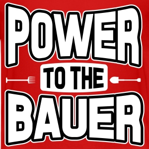 Power to the Bauer Shirts - Teenage Premium T-Shirt