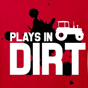 Plays in dirt T-shirts - Organic børne shirt