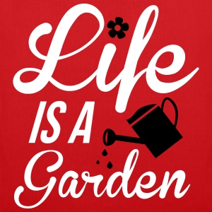 Life is a Garden Bags & Backpacks - Tote Bag
