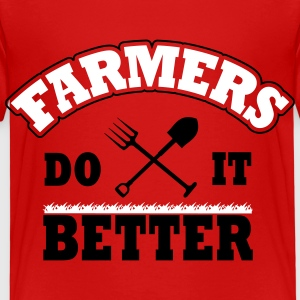 Farmers do it better Camisetas - Camiseta premium niño
