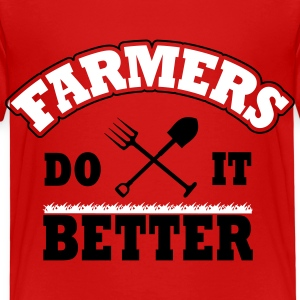 Farmers do it better Shirts - Kinderen Premium T-shirt