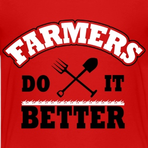 Farmers do it better T-Shirts - Teenager Premium T-Shirt