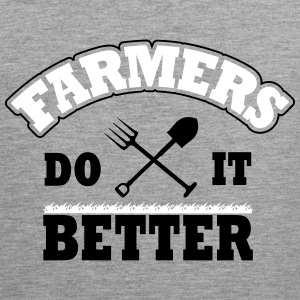Farmers do it better Tank Tops - Men's Premium Tank Top