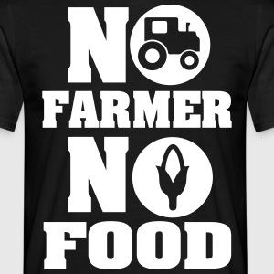 No farmer no food T-Shirts - Männer T-Shirt