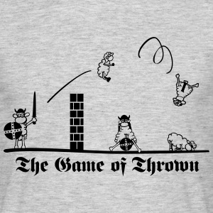 The Game of Thrown T-Shirts - Männer T-Shirt