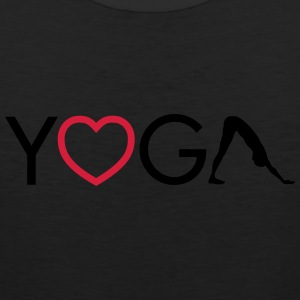 Yoga - Heart - Downward Dog Canotte - Canotta premium da uomo