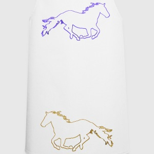 Horses Outlined - Cooking Apron