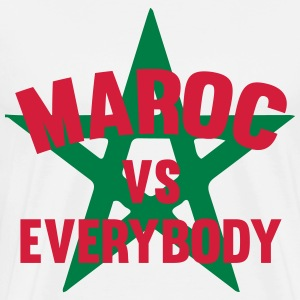 maroc vs everybody Tee shirts - T-shirt Premium Homme