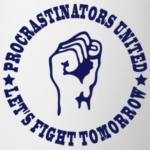 Procrastinators united Mugs & Drinkware - Mug