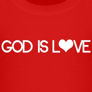 God is love Camisetas - Camiseta premium adolescente