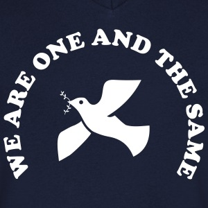 We are one and the same T-Shirts - Men's V-Neck T-Shirt
