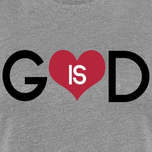 God is love T-Shirts - Women's Premium T-Shirt