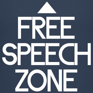 free speech zone T-shirts - Teenager premium T-shirt