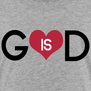God is love Shirts - Teenage Premium T-Shirt