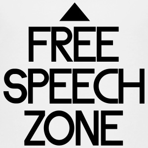 free speech zone Shirts - Kinderen Premium T-shirt