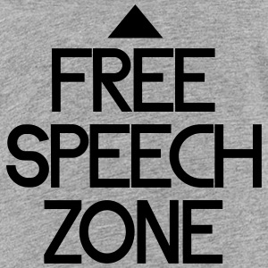 free speech zone Shirts - Teenage Premium T-Shirt