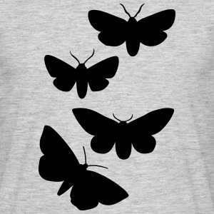 Butterfly T-shirts - Herre-T-shirt