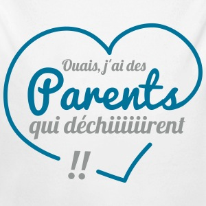Parents qui dechirent Sweats - Body bébé bio manches longues